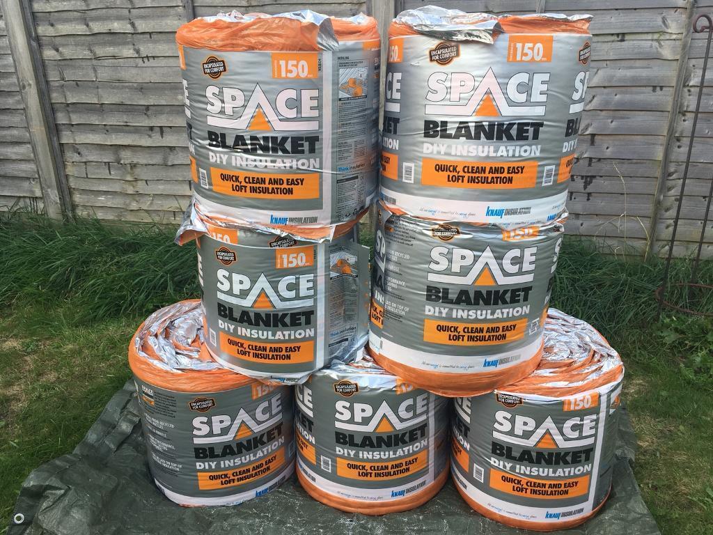 Knauf space blanket loft insulation