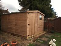 Timber Sheds for sale