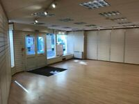 REDUCED - Large Corner High Street Shop To Rent - £180 per week - Brecon - Flexible Terms