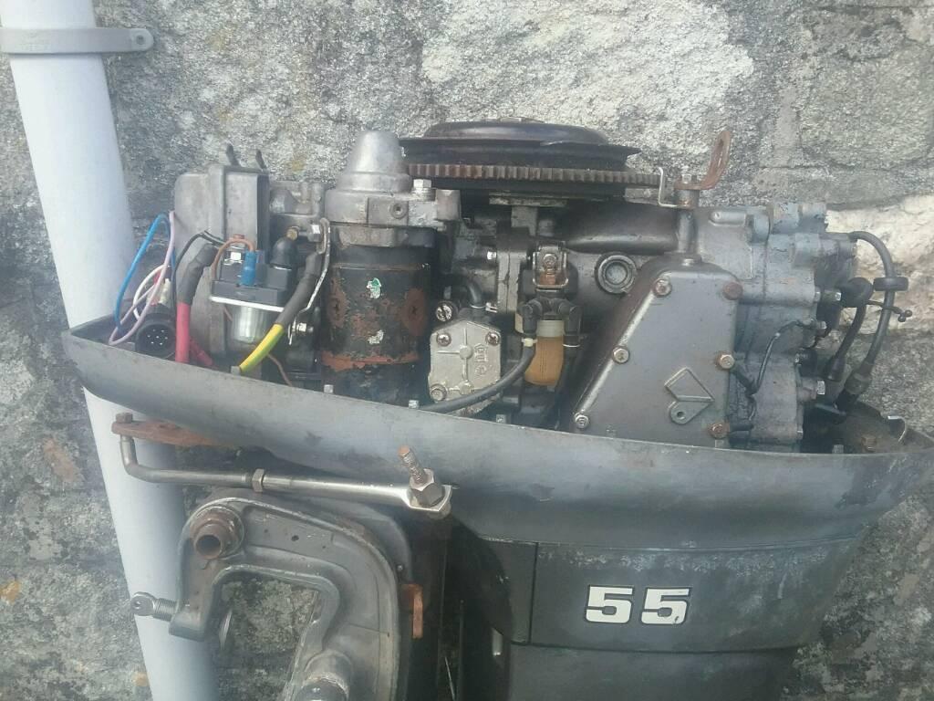 Yamaha/ mariner 55 hp 663 long shaft outboard 2 stroke