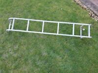 Ford transit full roof rack and back door ladders