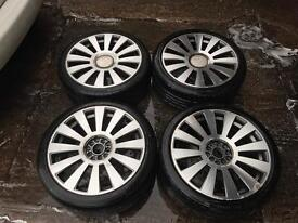 "18"" Volkswagen Golf mk4 Audi TT alloys wheels"
