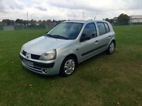 Renault Clio 1.5DCI 2002/02 Silver, Full Service History, Cam-Belt Changed! *Quick Sale*