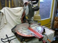 REXON Compound mitre saw, with general purpose 305mm blade