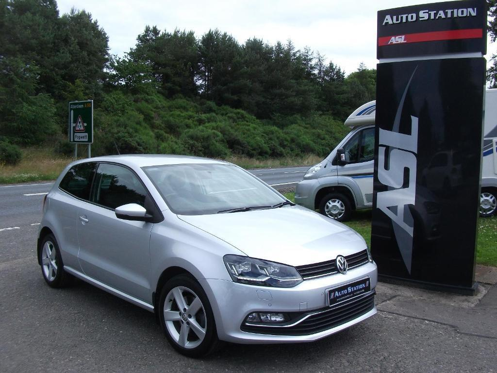 volkswagen polo 1 2 tsi 110 sel silver 2015 in elgin moray gumtree. Black Bedroom Furniture Sets. Home Design Ideas