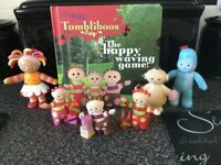IN THE NIGHT GARDEN FIGURE SET with BOOK