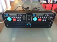 ELECTROVISION HDJ-2100 CD DECKS - Great Price!
