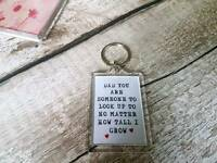 Dad handmade keyring fathers day