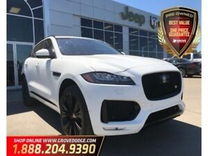 2017 Jaguar F-Pace S| Low KM| AWD| Sunroof| Leather| Supercharge