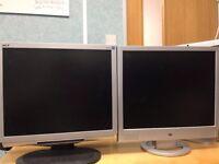 "2 X17"" monitor"