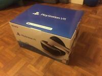 PlayStation (PS) VR headset, brand new sealed box