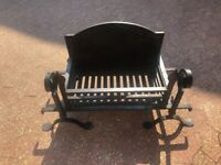 Large Cast Iron Fire Basket