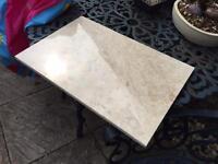 Perlato polished marble tiles 30.5 x 45.7