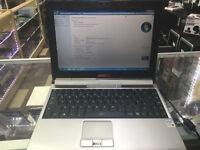 4GB HDMI,ERGO MICROLITE 521 LAPTOP WIN 7 INTEL PENTIUM DUAL @1.73GHZ, WIFI , WEBCAM OFFICE.