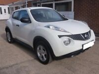 BREAKING FOR PARTS 2011 NISSAN JUKE VISIA 1.6 PETROL MANUAL AT EASY CAR PARTTS LTD