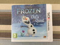 Disney Frozen Game - Nintendo 3DS - Near Ferndown, Dorset