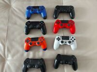 8 PS4 Controllers (Faulty)