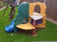 Children garden slaid.