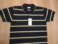 Paranoi - Mens XL Striped Polo Shirt - New with tag