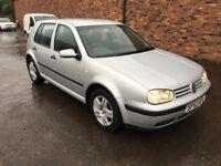 2003 53 Volkswagen Golf 1.9 tdi **FSH** 1 years mot** Diesel** very clean**