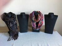 Scarf / Jewellery Display Stands and Mannequin