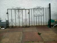 Driveway gate,s 2sets and garden gate