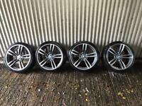 """19"""" BMW 3 Series M Sport replica Alloy Wheels - 5x120 - Will fit 318, 320 ect F30"""