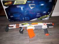 Nerf modulus ecs10 blaster + upgrade parts