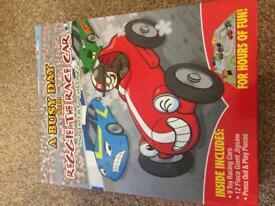 Race car Busy Day Book