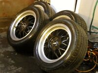 "15"" Ford Alloys with new tyres"