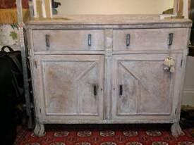 Vintage Dining Room Side Cabinet