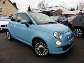 Fiat 500 LOUNGE (blue) 2013