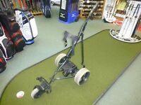 Powakaddy Golf Freeway Electric Trolley - Lead acid battery and charger