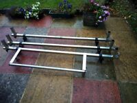 Roof Bars with Ladder Roller