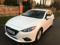 Mazda 3 SE-G Sat Nav Sykactive 2.0 2015 Only 1 Owner Immaculate as Astra Focus Fiesta 308 Seat Golf