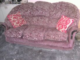 3 seater sofa, good condition, free