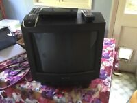 Sony TV and Goodmans freeview bundle