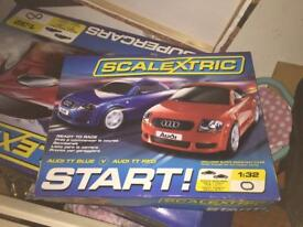 Scalextric starter (Audio) and V12 supercars (Aston Marin )