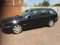Jaguar X type 2005, AWD, 2.5 lt, leather interior, sat nav, please call for more information