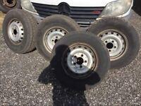 Mercedes sprinter wheels tyres 225/70/15c x4