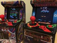 14 x fully working arcade machines - miniature