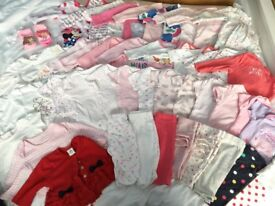 Newborn/1month girls bundle