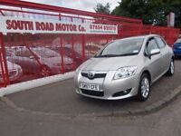 *TOYOTA AURIS T-SPIRIT 1.6*2008*IMMACULATE!*LOW MILEAGE*5 STAMPS*YEARS MOT*EXCEPTIONAL VALUE £3295*