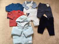 Bundle of baby boys 0-3 months exc cond