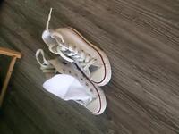 White converse size 10 children