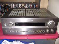 Yamaha Natural Sound Surround AV Amplifier DSP-AX-640DE