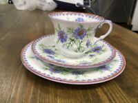 Aynsley bone china trio