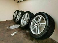 Genuine Audi Q3,Q5 S Line Alloys, Alloy Wheels 235/50/18