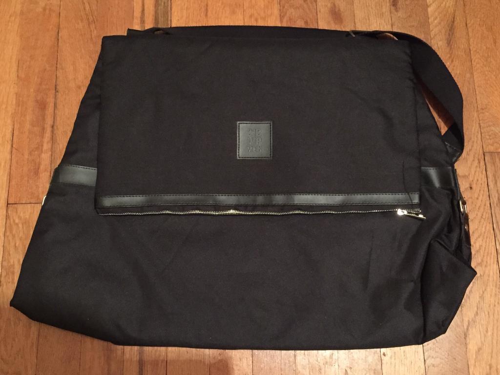 Brand new Carolina Herrera 212 VIP men's suit bag