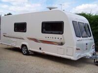 2011 Bailey Unicorn Madrid 4 berth touring caravan